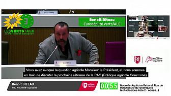 PAC 2020 : Benoît Biteau Conseiller Régional et Eurodéputé félicite le choix de la Région Nouvelle Aquitaine @BenoitBiteau @NvelleAquitaine